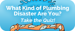 Plumbing Disaster Quiz Button